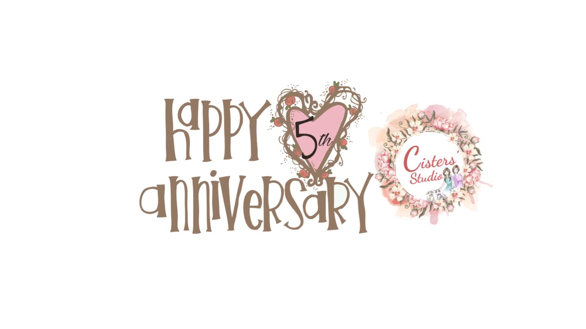 5TH YEAR ANNIVERSARY!!
