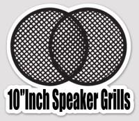8' & 10' Inch SPEAKER GRILLS