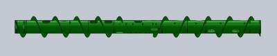 625 Full Finger Auger Tube TUBE ONLY - $3,771,  COMPLETE - $6,048