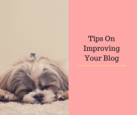 Tips On Improving Your Blog