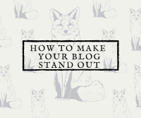 Standout Blog