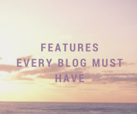 Blogging Features