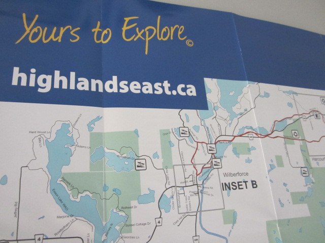 Highlands East Map