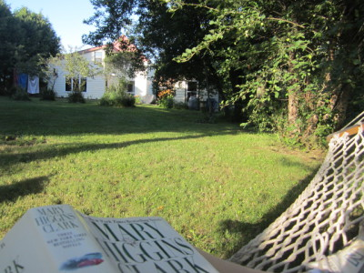 Large, private Backyard