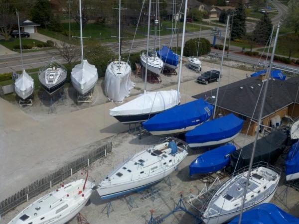 Boat Yard in spring