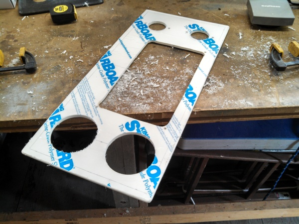 Building new dash panel