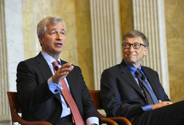 FIF 2015 - Jamie Dimon and Bill Gates