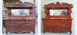 Furniture refinishing and repair