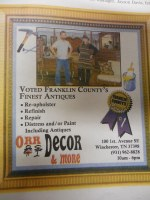 Franklin County best antiques