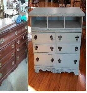 Chalk paint Media Center