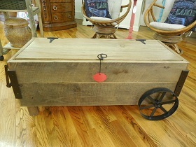Coffee table or storage chest