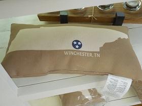 Winchester, TN Pillow