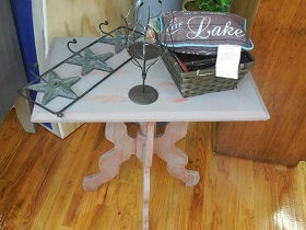 Chalk paint vintage table
