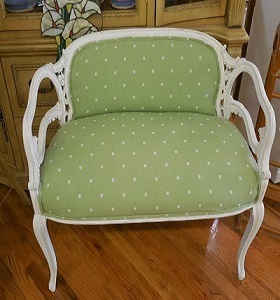 Chalk paint, upholstery