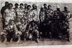 Sgt. Fathal's ING platoon and I