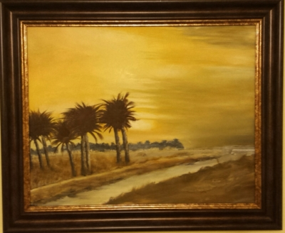 Sunrise near The Euphrates, Iraq.