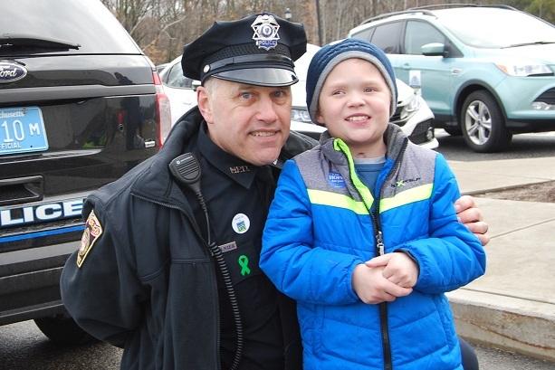 Hunter and Officer Steve