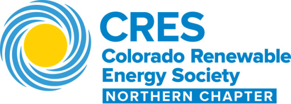 Logo for the Colorado Renewable Energy Society