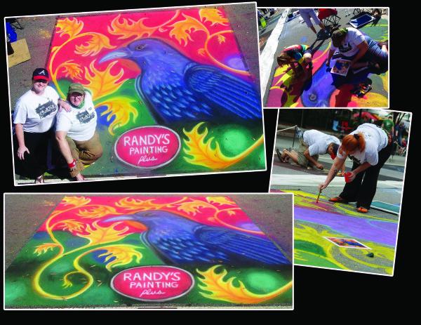 Marietta Chalk Festival Oct. 2014 Marietta, GA