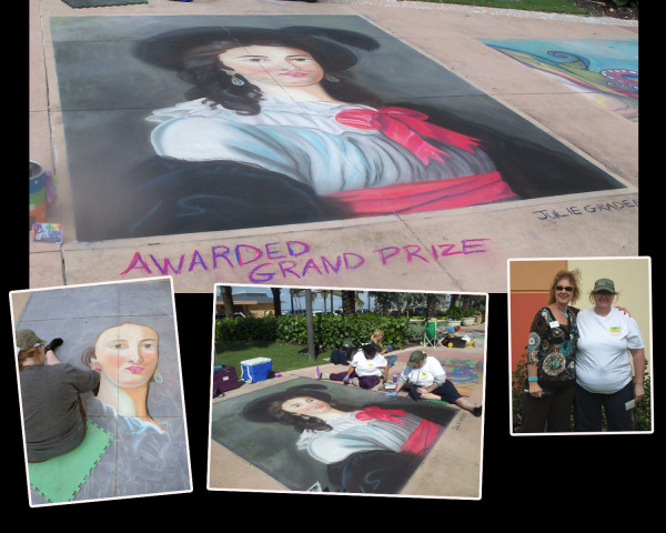 Oct 2012 Clearwater Chalk Walk Awarded Grand Prize