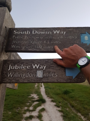 Cycling the South Downs Way!