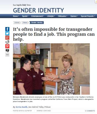 September 16 2016 LA Daily News