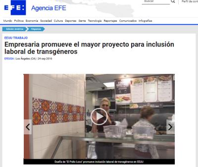 Sep 24, 2016: Agencia Efe