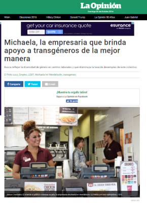 Sep 26, 2016 : La Opinion