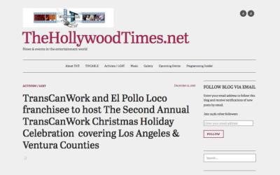 December 12, 2016: Hollywood Times