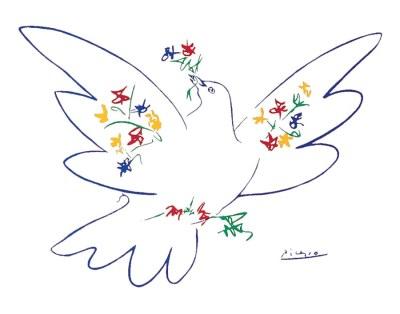 Dove of Peace, 1949, Pablo Picasso