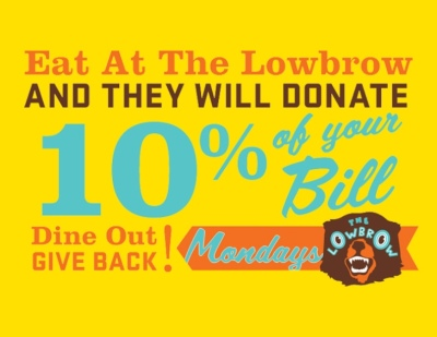 OCT 8: Dine Out Give Back!