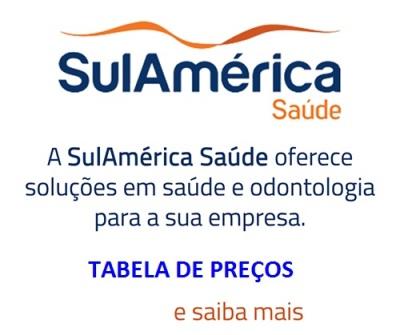 TABELA DE PREÇOS SUL AMERICA SAUDE EMPRESAS