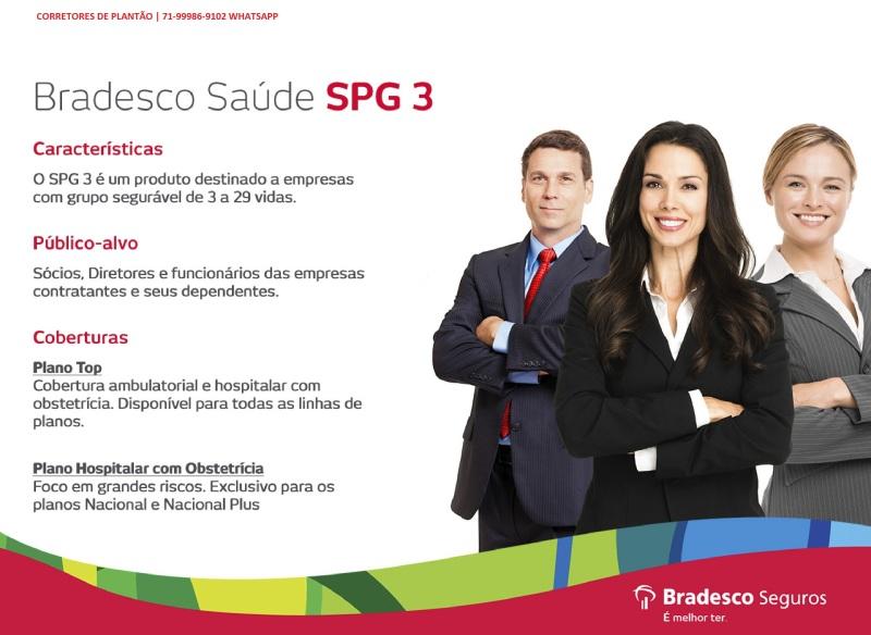 Bradesco Saude SPG Empresas 03 a 199 colaboradores