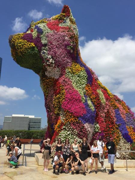 The Puppy, Bilbao
