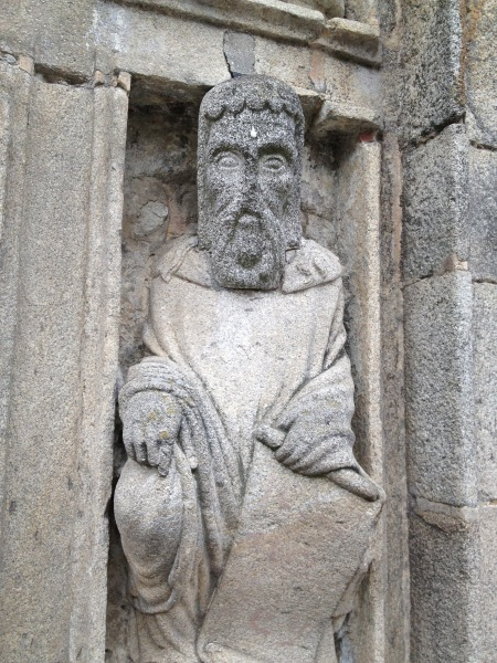 Medieval Sculptures, Santiago de Compostela