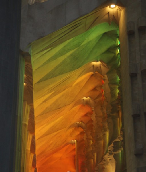 Light in the Sagrada Familia, Barcelona