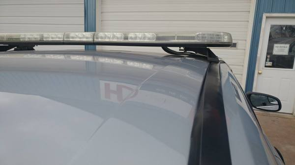 City Cop Car Light Bar With NO Drill Holes