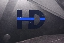 HD Repair Police Upfitting Sticker