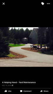 Edging and Mulch