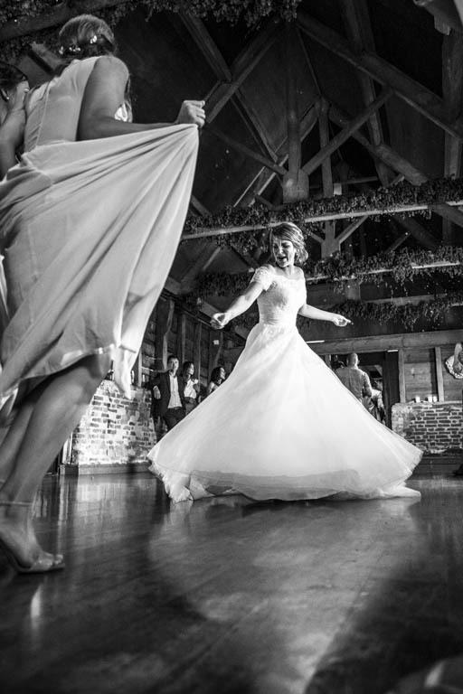 Charles McArthur Wedding Photography Bride Dancing Wiltshire