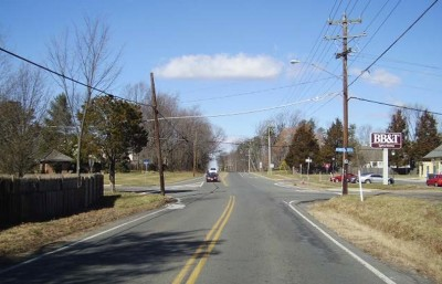 North Bound Approach - Fox Mill Rd