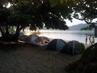 Beach Camping