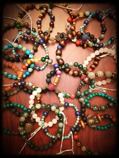 Hand-Made Chakra/Essential Oil Jewelry