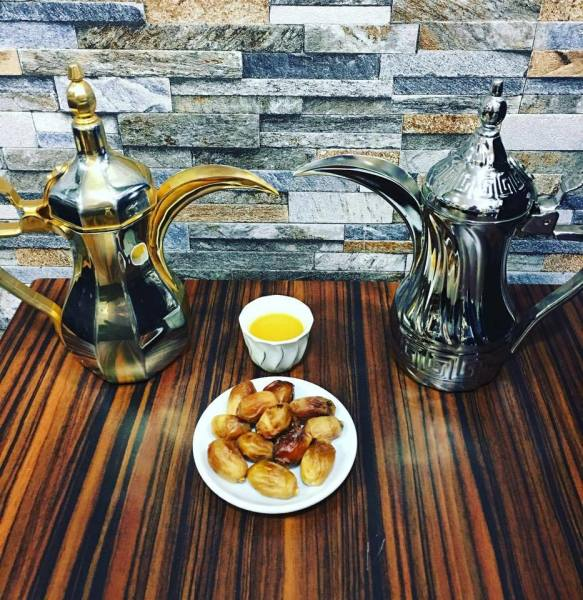 Arabic Coffe with dates