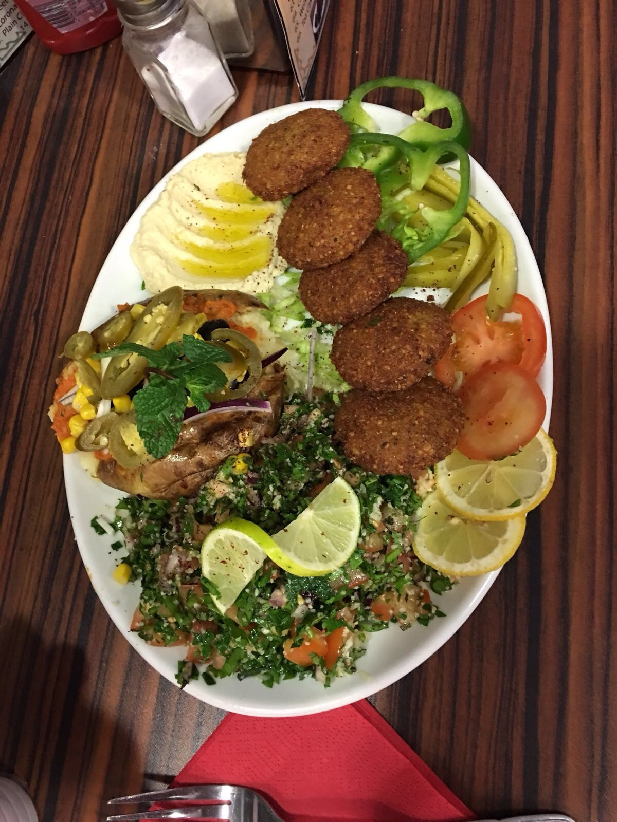 Falafel Meal