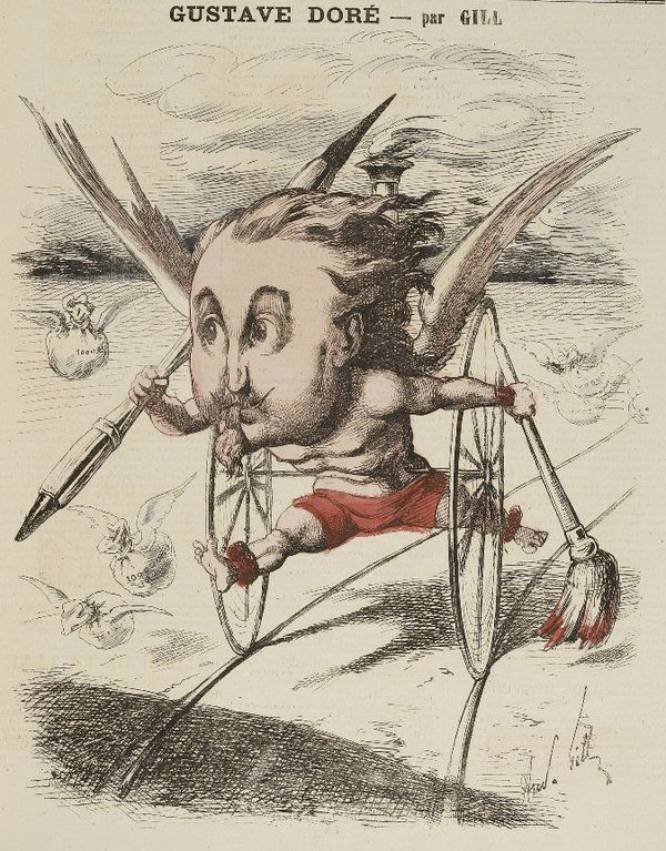 caricature d'André Gill