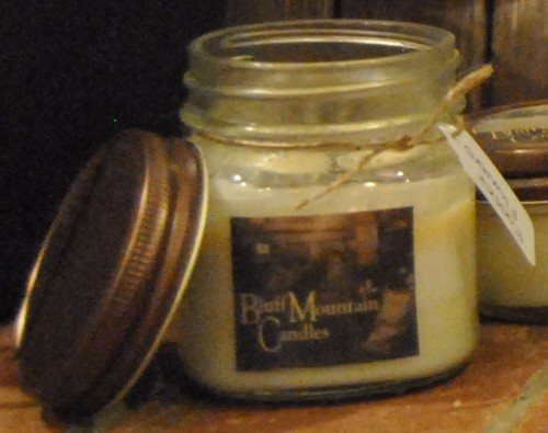 8 oz square mason jar