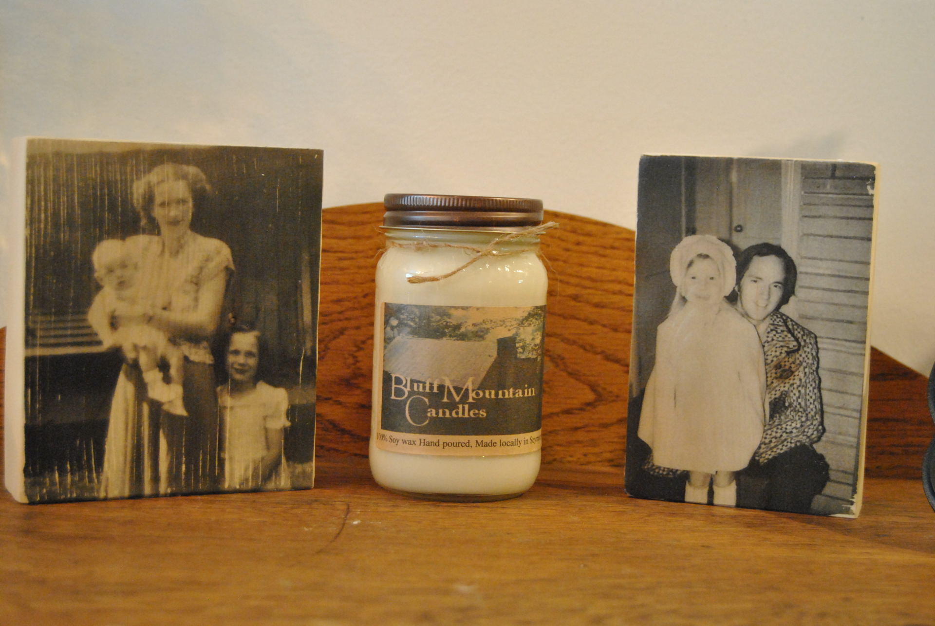 16 oz square mason jar candle