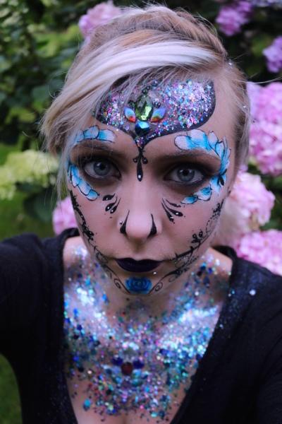 Glitter Sugar Skull