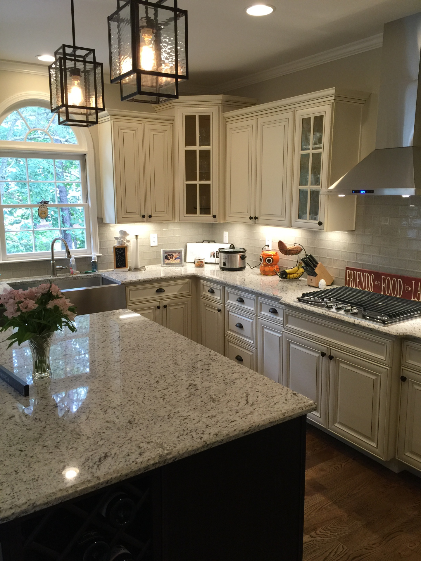 cream, cabinets, new, remodel, kitchen,